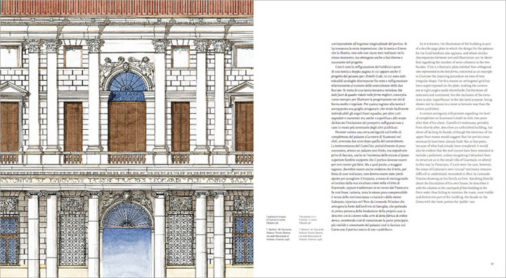 Palazzo Trissino Baston, dettaglio