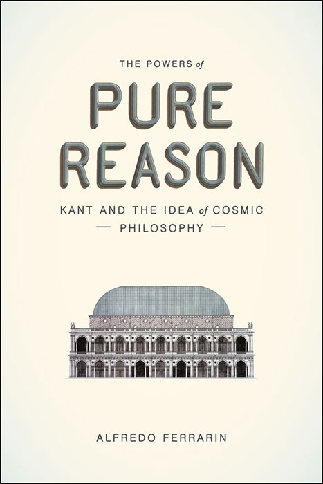 """The Basilica on the cover of """"The Powers of Pure Reason"""" by The University of Chicago Press. April 2015."""